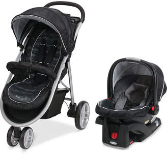 Graco Baby Click Connect Aire3 Stroller & SnugRide 35 Infant Car Seat Travel System