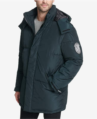 DKNY Men's Hooded Bubble Parka