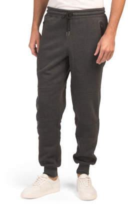 Fleece Joggers With Zip Pockets