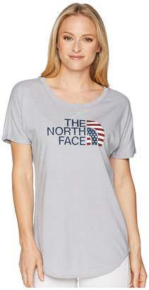 The North Face Americana Track Tee Women's T Shirt
