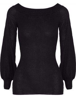 Autumn Cashmere Ribbed Metallic Cashmere Lurex And Silk-Blend Sweater
