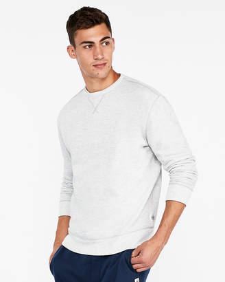 Express Vintage Drop Shoulder Fleece Crew Neck Sweatshirt