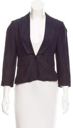 See by Chloe Virgin Wool Shawl Collar Blazer