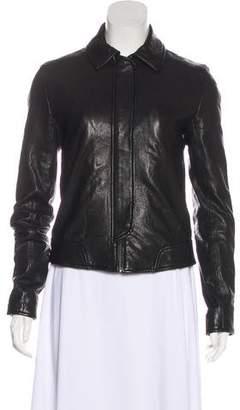 Alexander Wang Zip-Up Leather Jacket