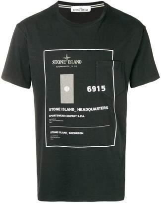 Stone Island graphic print T-shirt