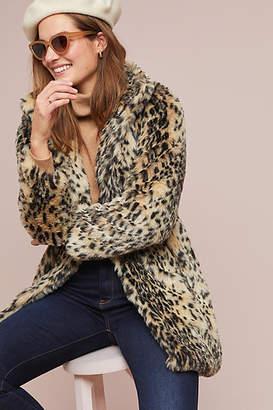 Cupcakes And Cashmere Leopard Faux Fur Coat