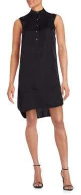 ATM Anthony Thomas Melillo Sleeveless Tuxedo Dress