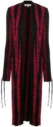 McQ long knitted cardigan