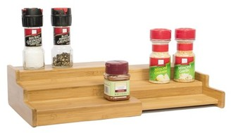 Bamboo Expandable 3-Tier Spice Rack and Cabinet Organizer by Trademark Innovations