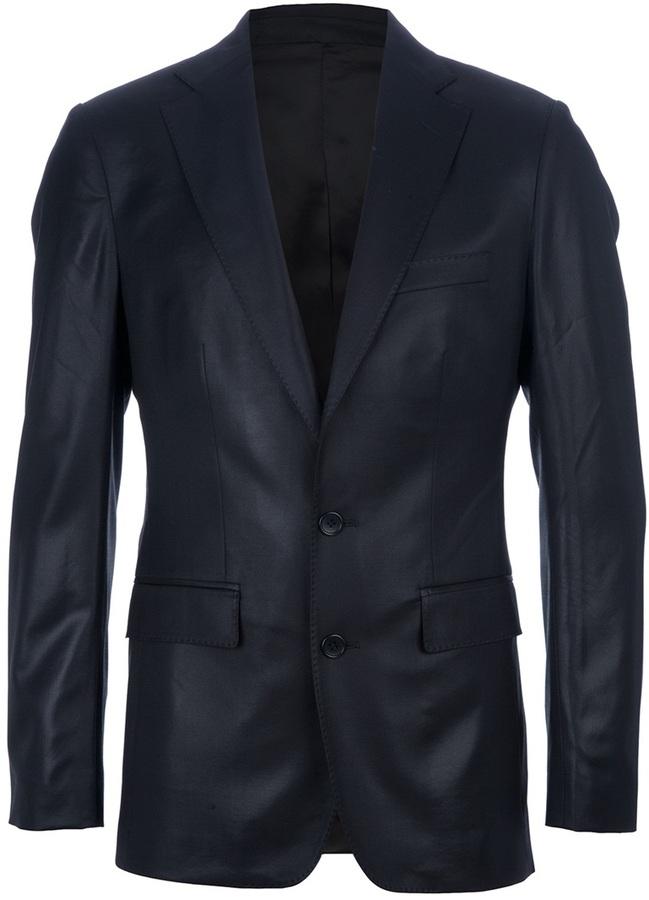 Yang Li classic single breasted suit
