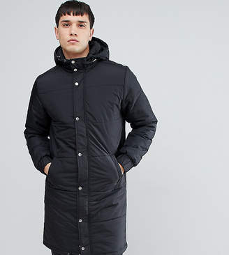 Another Influence TALL Longline Quilted Coat