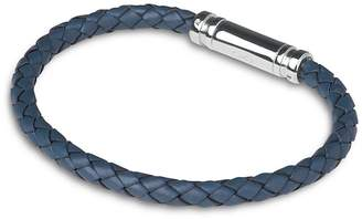 Links of London Venture Blue Leather & Sterling Silver Bracelet