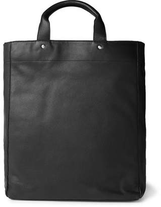 Dries Van Noten Full-Grain Leather Tote Bag
