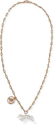 Ralph Lauren Horse Charm Necklace