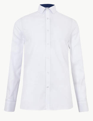 Marks and Spencer Cotton Blend Shirt