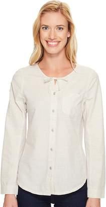 Woolrich Outside Air Eco Rich Shirt Women's Long Sleeve Button Up