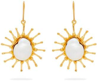 Mother of Pearl Sylvia Toledano - Sun Baroque Drop Earrings - Womens - Pearl