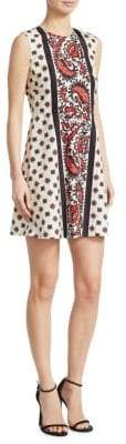 RED Valentino Bandanna-Print Dress