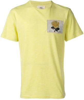 Kent & Curwen New Rose patch T-shirt
