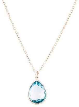 Ippolita Topaz Rock Candy Teardrop Pendant Necklace