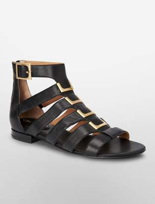 Calvin Klein estes leather sandal