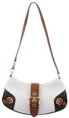 Dolce & Gabbana Tricolor Leather Shoulder Bag