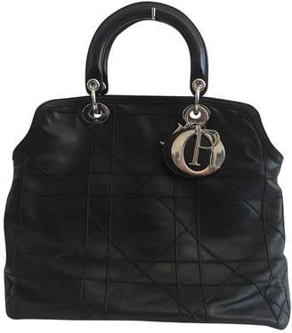 Christian Dior Granville leather tote