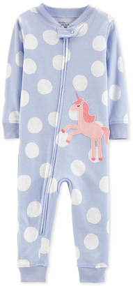 Carter's Carter Baby Girls Unicorn Pajama