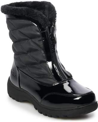 totes Kelly Women's Faux-Fur Waterproof Winter Boots