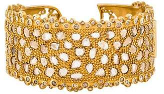 Coomi 20K Diamond Luminosity Cuff