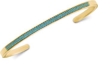 Michael Kors Women's Custom Kors Pavé Sterling Silver Nesting Bracelet Insert