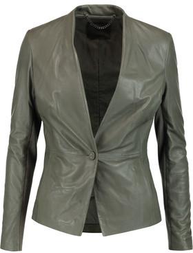 Muubaa Shaula Leather Jacket $530 thestylecure.com