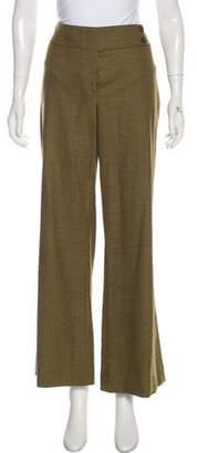 Michael Kors Wool Mid-Rise Pants