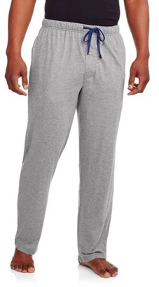 Hanes Men's X-Temp Solid Knit Sleep Pant with Logo Inside Elastic