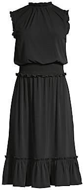 MICHAEL Michael Kors Women's Sleeveless Smocked Dress