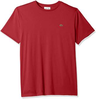 Lacoste Men's Short Sleeve Pima Crewneck T-Shirt, Th6709