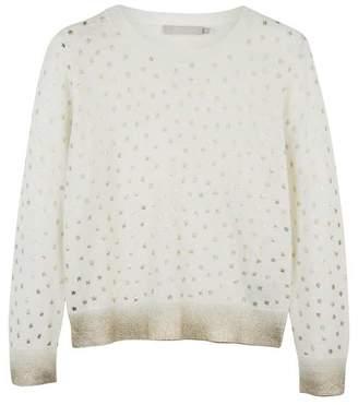 Mint Velvet Ivory Foil Star Knit
