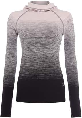 Pepper & Mayne - Compression Hoody Ombré Pink