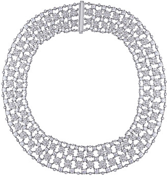 Diamond Select Cuts Certified 18K 28.28 Ct. Tw. Diamond Necklace