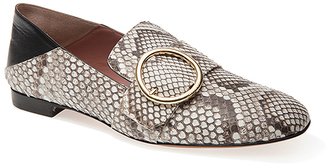 Bally Python Lottie Soft Loafer $995 thestylecure.com
