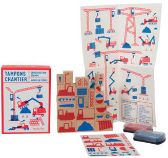 Moulin Roty Set of 23 Construction Stamps