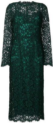 Dolce & Gabbana long-sleeved lace dress