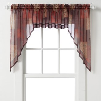"Eden Swag Curtain Pair - 56"" x 36"""