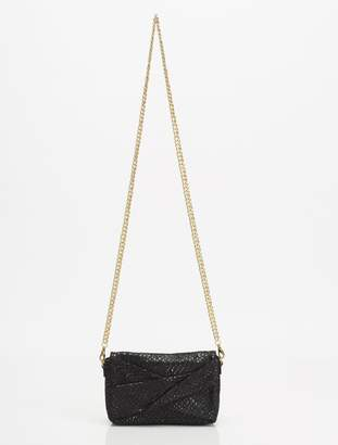 Halston GRACE SMALL BOW CROSSBODY