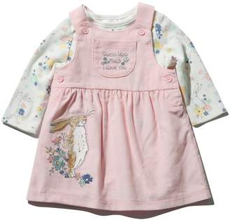 M&Co Guess how much I love you dress and bodysuit set (Newborn - 3 yrs)