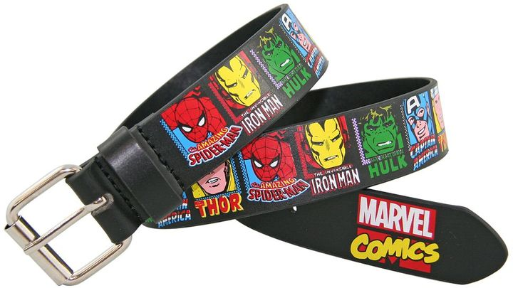Marvel Comics Heroes Belt - Boys 8-20