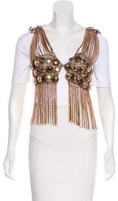 Azzaro Vintage Chain-Link Vest