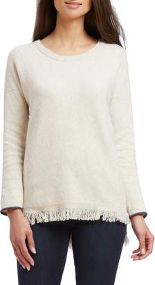 Nic+Zoe East Fringe Sweater