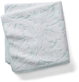 Kassatex Foglia Bath Towel - Clearwater Blue