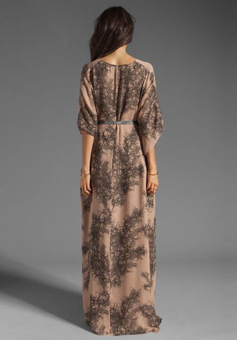 Winter Kate Trinity Dress in Web Latte